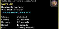 Yutte Rocksword's Rock Acid