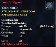 Love Bludgeon