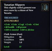 Tunarian Slippers