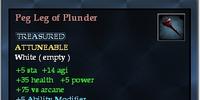 Peg Leg of Plunder