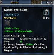 Radiant Seer's Coif