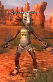 A Sandscrawler diplomat