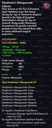 Darkbriar's Masquerade Gloves