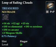 Loop of Fading Clouds