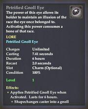Petrified Gnoll Eye