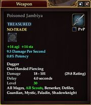 Poisoned Jambiya