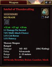 Satchel of Thundercalling