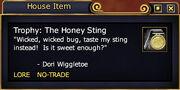 Trophy The Honey Sting (Examine)