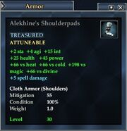 Alekhine's Shoulderpads