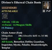Diviner's Ethereal Chain Boots