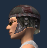 Siege Quartermaster's Chain Helm (Equipped)