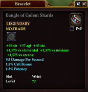 Bangle of Golem Shards