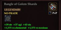Bangle of Golem Shards