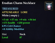 Erudian Necklace Charm