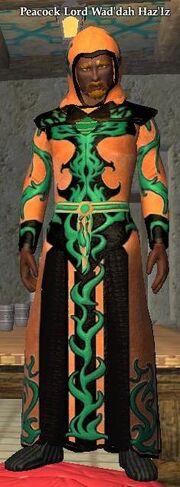 Peacock Lord Wad'dah Haz'Iz