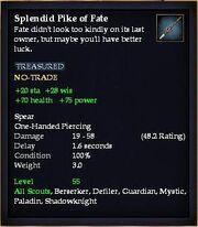 Splendid Pike of Fate