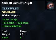Stud of Darkest Night