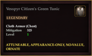 Vesspyr Citizen's Green Tunic