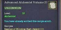 Advanced Alchemist Volume 27