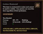 Golden Bladestaff