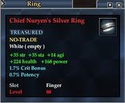 Chief Nuryen's Silver Ring