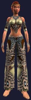Enchanted Gi of War (Visible, Female)