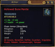 Hollowed Bone Mantle