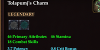 Tolapumj's Charm