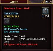 Demitry's Sheer Skull