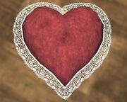 Heart-Shaped Pillow (Visible)