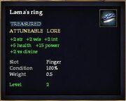 Laena's ring
