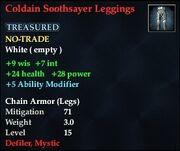 Coldain Soothsayer Leggings
