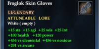 Froglok Skin Gloves