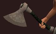 Iron Assault Axe (Equipped)