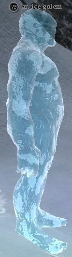 An ice golem