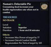 Numair's Delectable Pie