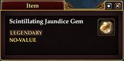 Scintillating Jaundice Gem