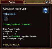 Qeynosian Plated Coif