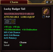 Lucky Badger Tail