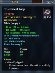 Tri-element Loop