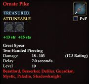 Ornate Pike