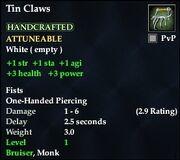 Tin Claws