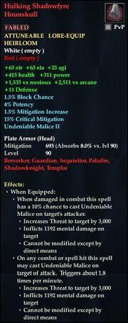Hulking Shadowfyre Hounskull