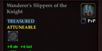 Wanderer's Slippers of the Knight