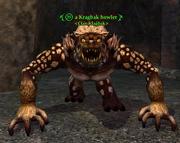 A Kragbak howler