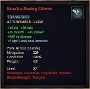 Kraz'k's Boxing Gloves