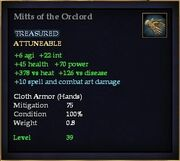 Mitts of the Orclord