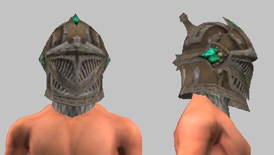 Vesspyr Warrior's Bronze Barbute (Equipped)