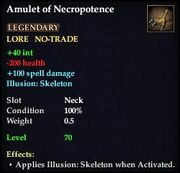 Amulet of Necropotence