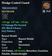 Sludge-Coated Guard
